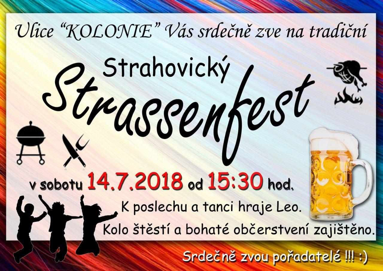 plakát k akci STRASSENFEST