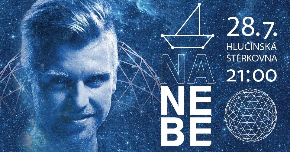 plakát ke koncertu skupiny NANEBE