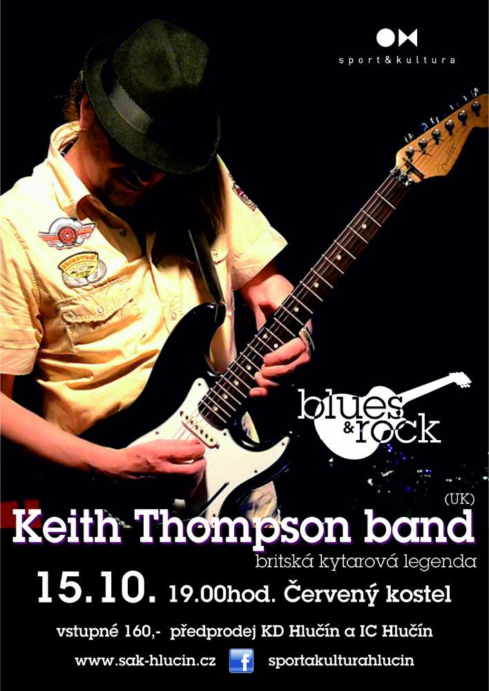 pozvánka na akci KEITH THOMPSON BAND