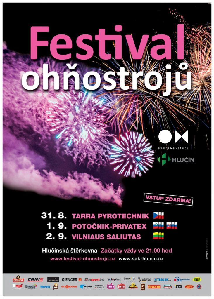 plakát k akci FESTIVAL OHŇOSTROJŮ