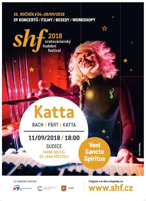 plakát k akci SVATOVÁCLAVSKÝ HUDEBNÍ FESTIVAL /KATTA