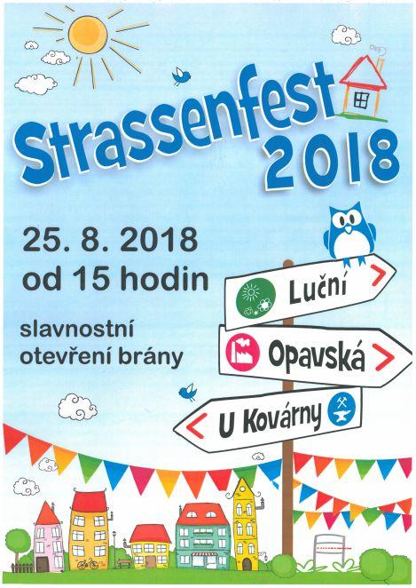 pozvánka na akci STRASENFEST 2018