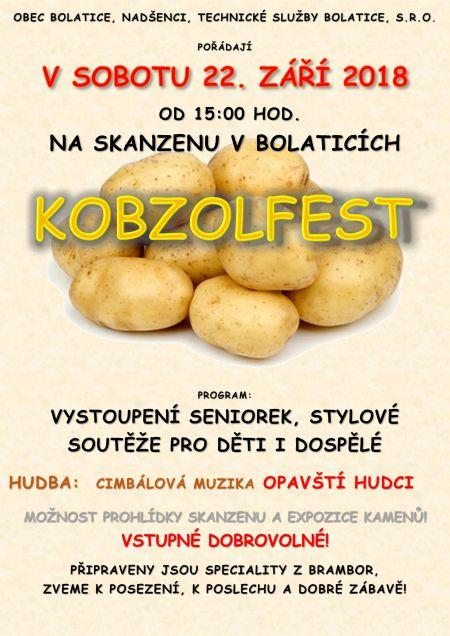 plakát KOBZOLFEST
