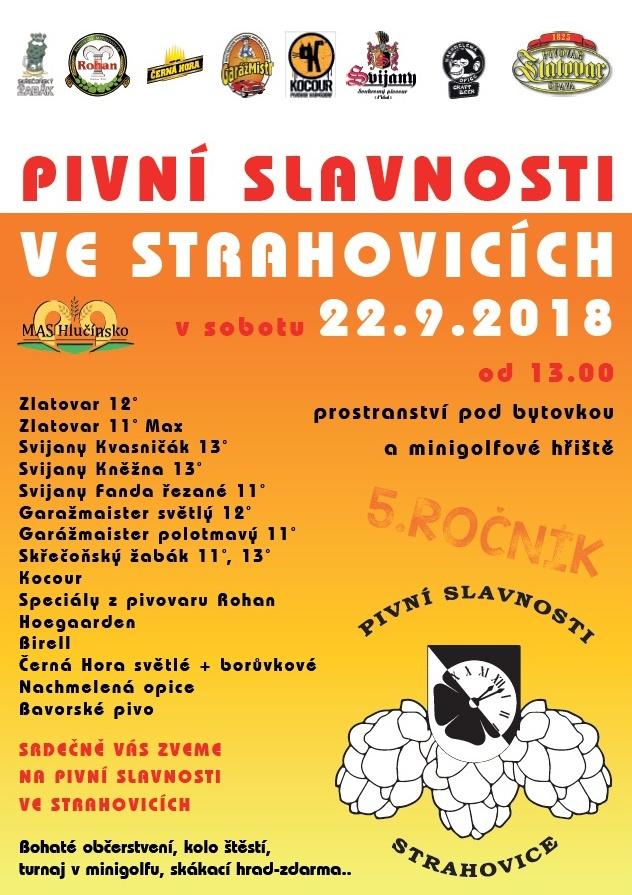 plakát k akci PIVNÍ SLAVNOSTI