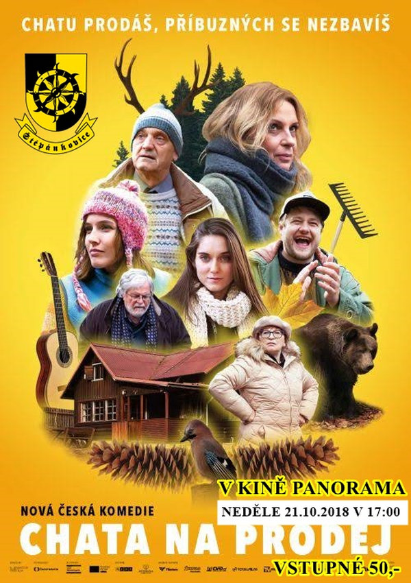 plakát k české komedii