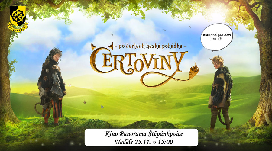 plakát k filmové pohádce ČERTOVINY