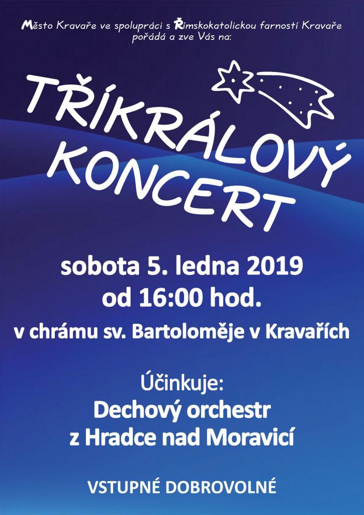 Tříkrálový koncert 2019