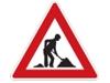 Značka práce na silnici