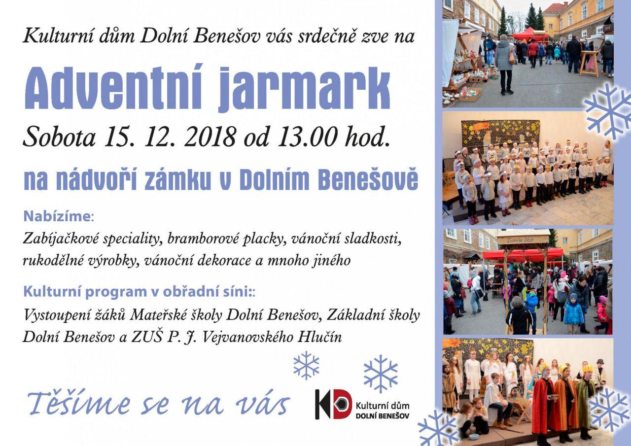 plakát k akci ADVENTNÍ JARMARK