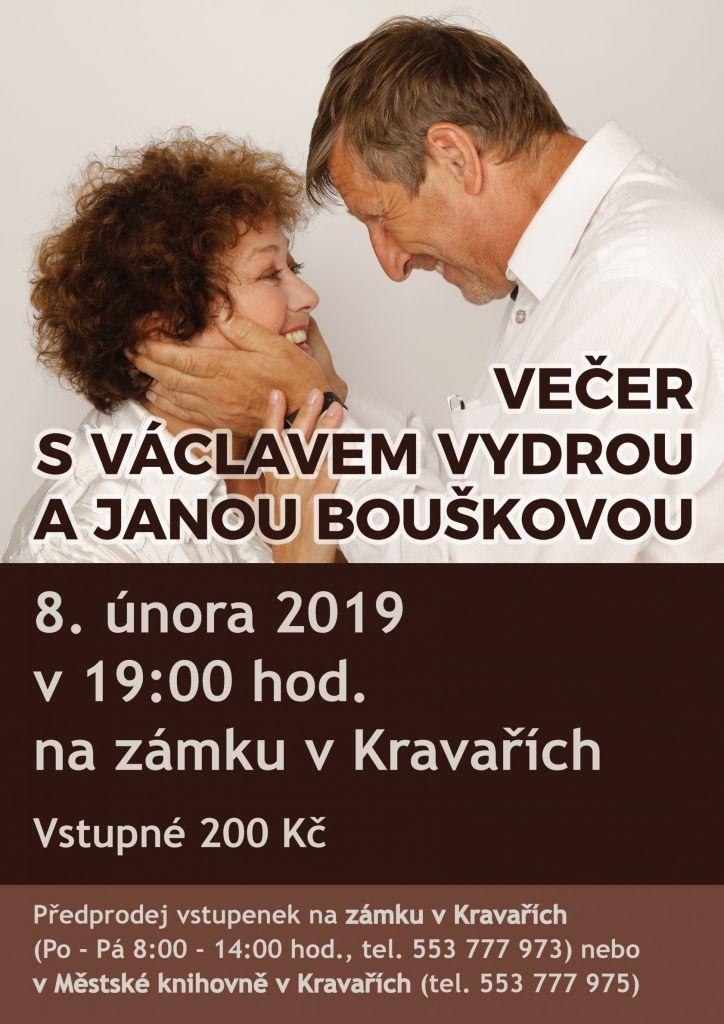 Večer s V.Vydrou a J.Bouškovou