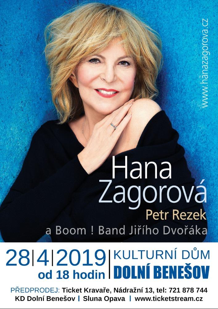 plakát k akci HANA ZAGOROVÁ/PETR REZEK