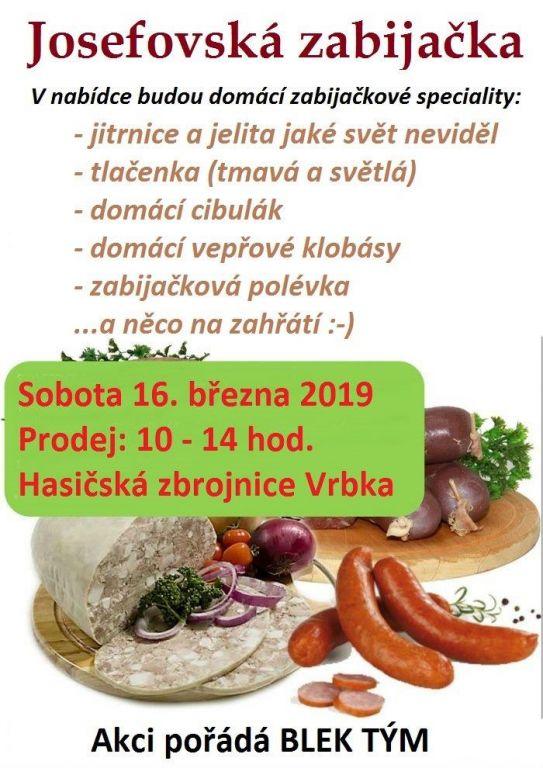 plakát k akci JOSEFOVSKÁ ZABIJAČKA