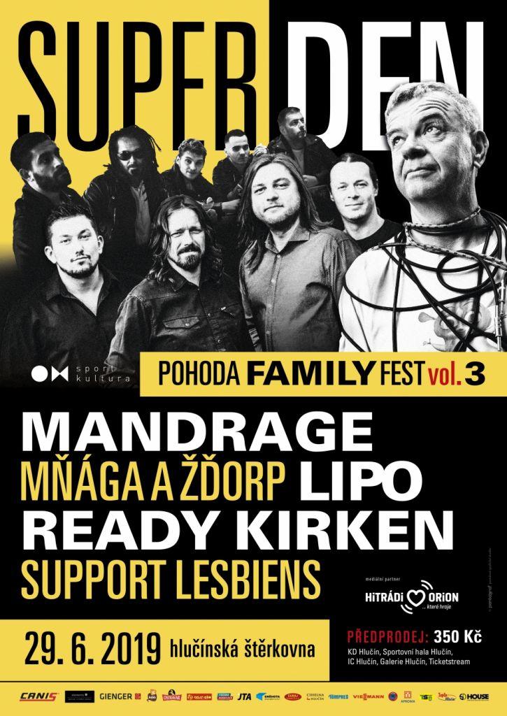 plakát kakci SUPER DEN POHODA FAMILY FEST VOL. 3