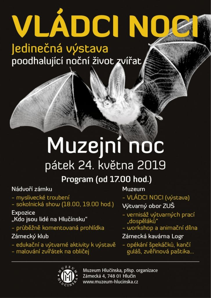 plakát k akci MUZEJNÍ NOC