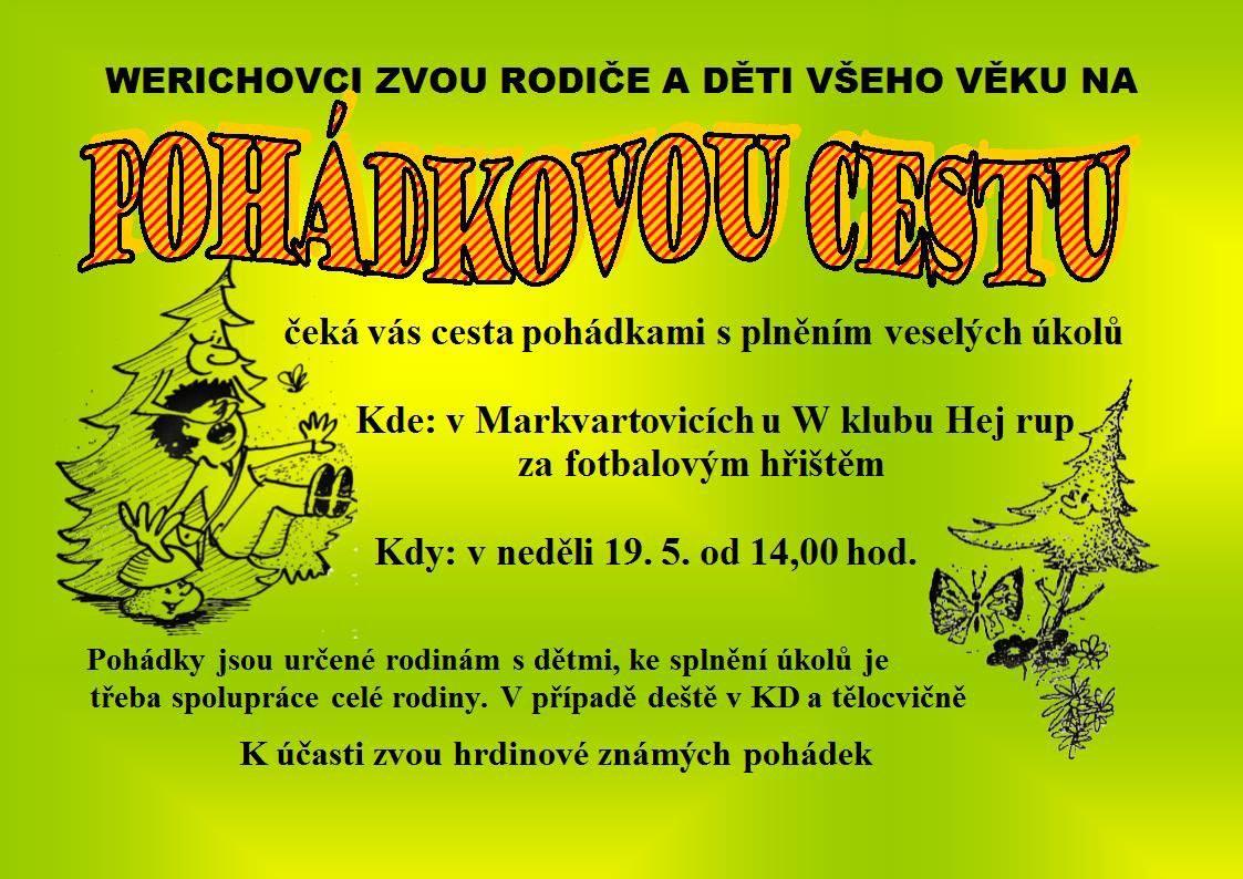 plakát k akci POHÁDKOVÁ CESTA