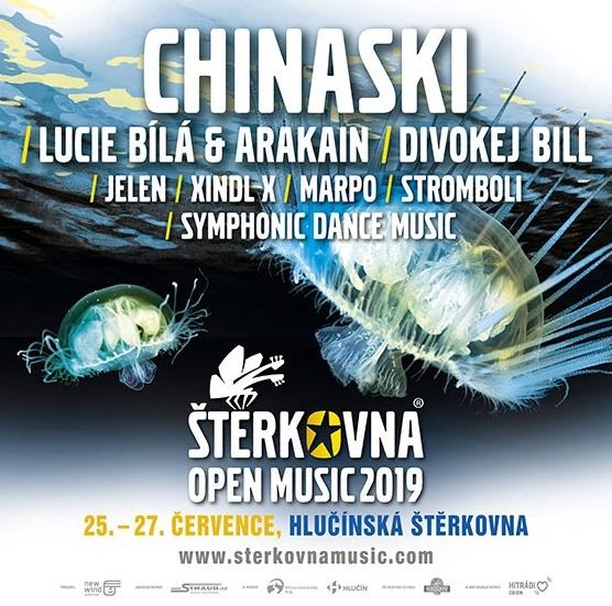 plakát kakci ŠTĚRKOVNA OPEN MUSIC 2019