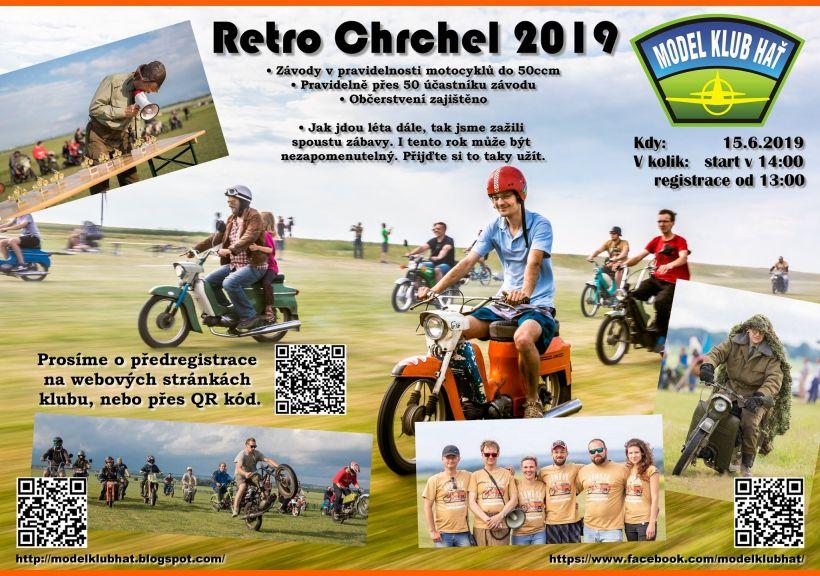 plakát kakci RETRO CHRCHEL 2019