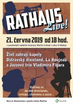 plakát k akci RATHAUS LIVE
