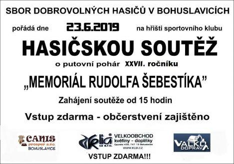 plakát kakci HASIČSKÁ SOUTĚŽ