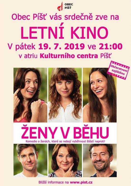 plakát kletnímu kinu ŽENY VBĚHU