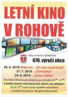 plakát k akci ŽENY V BĚHU /letní kino/