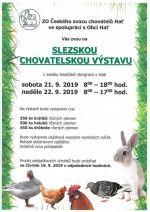 plakát k akci SLEZSKÁ CHOVATELSKÁ VÝSTAVA