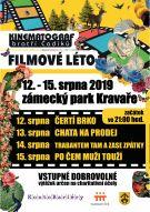 Plakát letní kino 2019