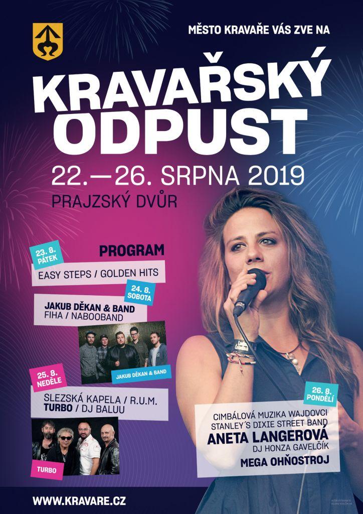 Plakát Kravařský odpust 2019