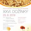 plakát k akci XXVI. DOŽÍNKY