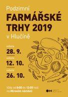 plakát k akci PODZIMNÍ FARMÁŘSKÉ TRHY 2019