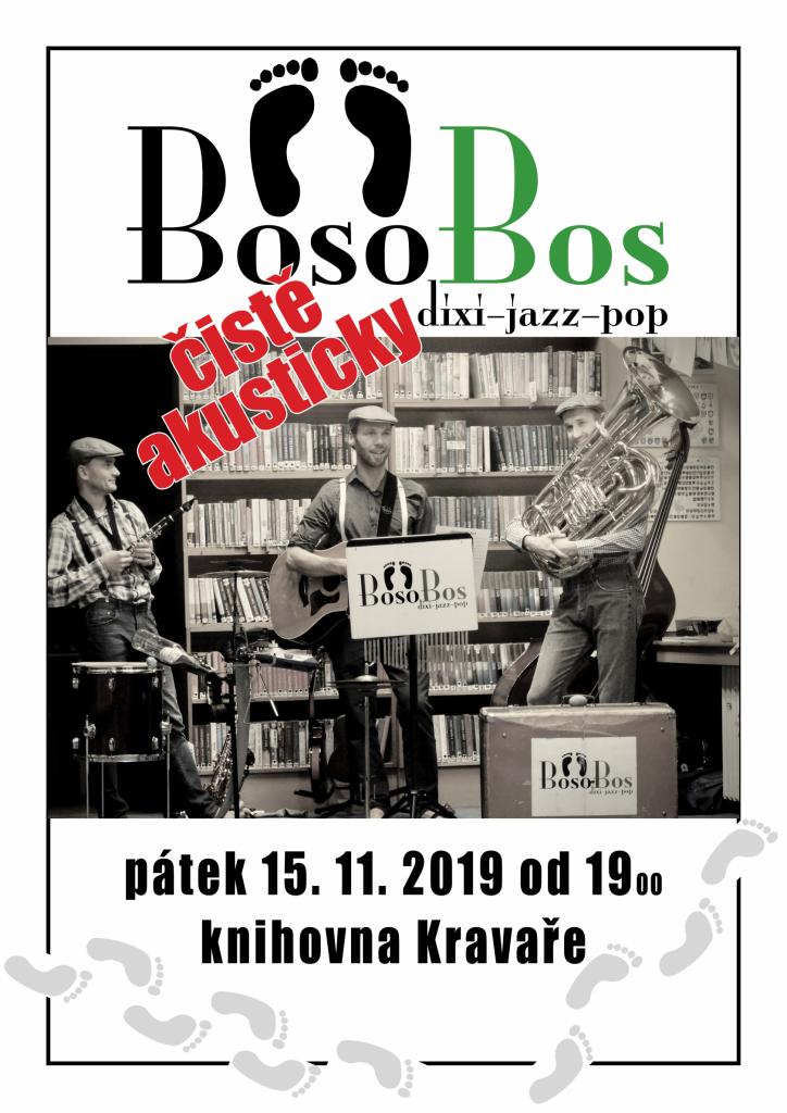 Plakát koncert BosoBos