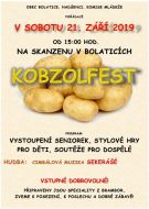 pozvánka na akci KOBZOLFEST
