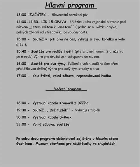 program kakci OKTOBERFEST