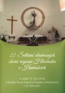 plakát k akci 22. SETKÁNÍ CHRÁMOVÝCH SBORŮ REGIONU HLUČÍNSKA