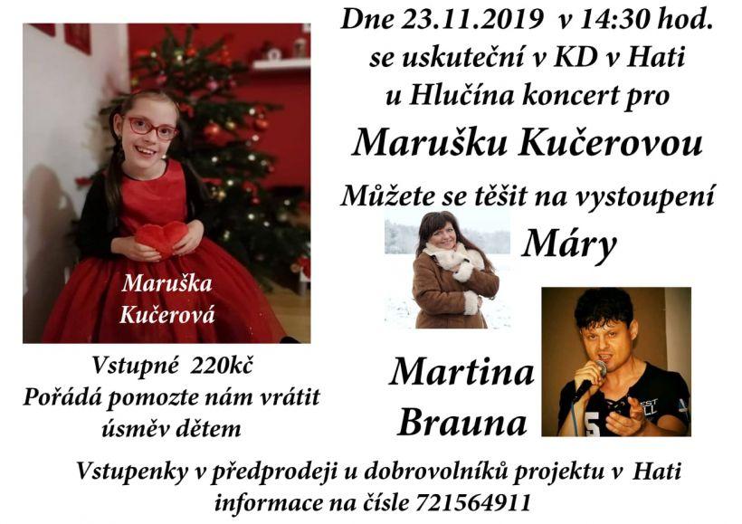 plakát kakci KONCERT PROMARUŠKU