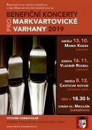 plakát k akci BENEFIČNÍ KONCERTY PRO MARKVARTOVICKÉ VARHANY 2019