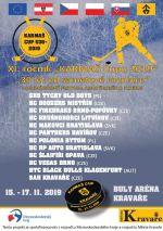 plakát k akci KARMAŠ CUP 2019 /mezinárodní festival amatérského hokeje/