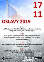 plakát k akci OSLAVY 2019