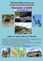 Plakát Kanada a USA