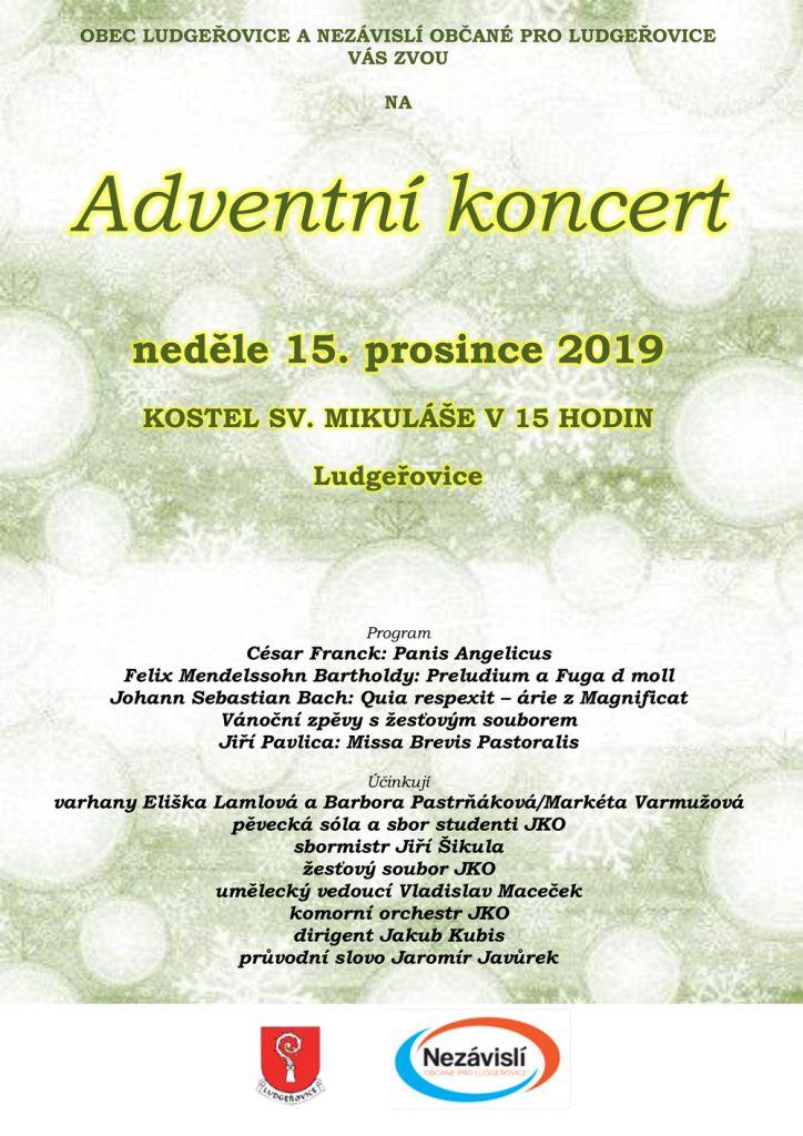 plakát kakci ADVENTNÍ KONCERT