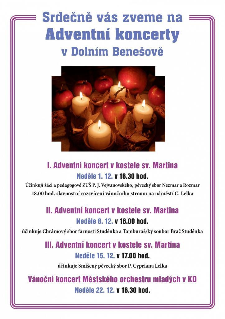 plakát kakci VÁNOČNÍ KONCERT MĚSTSKÉHO ORCHESTRU MLADÝCH