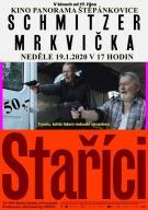 plakát k akci STAŘÍCI /filmové drama /