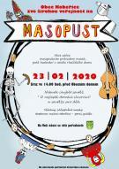 pozvánka na akci MASOPUST 2020