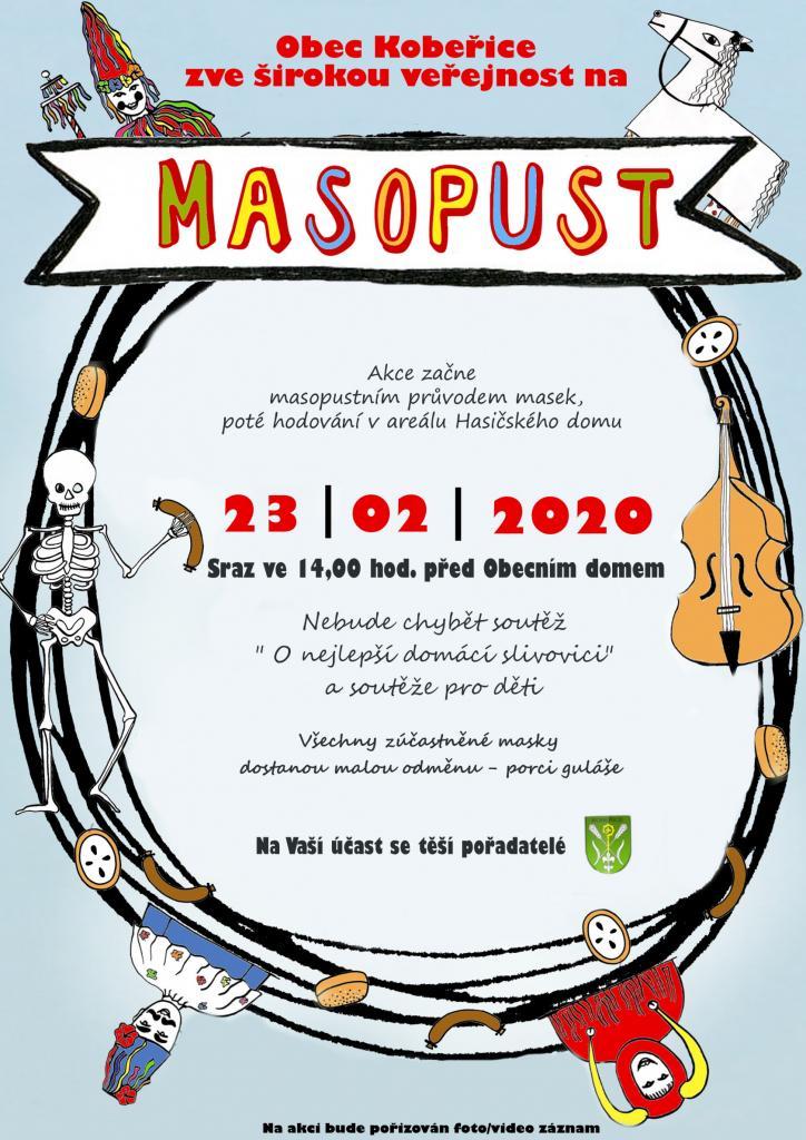 pozvánka naakci MASOPUST 2020