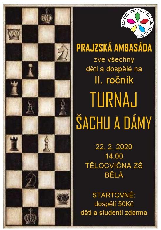 plakát kakci TURNAJ ŠACHU ADÁMY