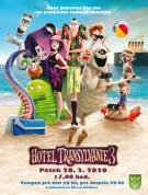 plakát k filmovému představení  HOTEL TRANSYLVÁNIE 3
