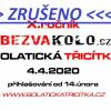 plakát ke zrušení závodu horských kol BOLATICKÁ TŘICÍTKA
