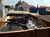 Na obrázku sběrný dvůr obrázek kontejneru