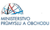 Na obrázku logo Ministerstvo obchodu a průmyslu