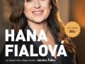plakát k akci HANA FIALOVÁ/SLAVNÉ MUZIKÁLOVÉ MELODIE, ŠANSONY EDITH PIAF